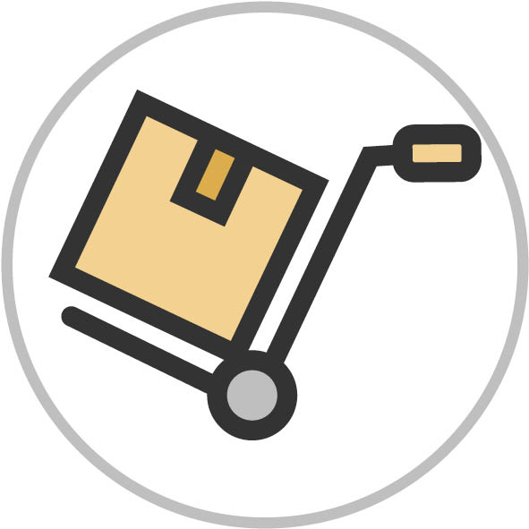 ITP Carico- scarico Area di accesso a mezzi pesanti per il carico/scarico merci.
